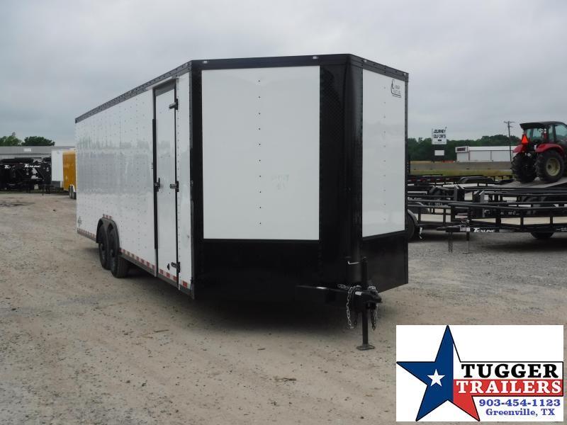 2019 Cargo Craft 8.5x27 27ft Enclosed Auto Hauler Blackout Car / Racing Trailer