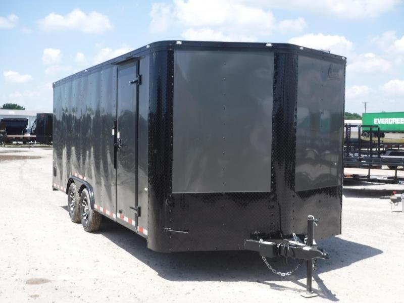 2019 Cargo Craft 8.5x18 18ft Blackout Ramp Enclosed Cargo Trailer
