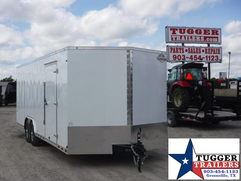 2019 Cargo Mate 8.5 x 24 EH Car / Racing Trailer