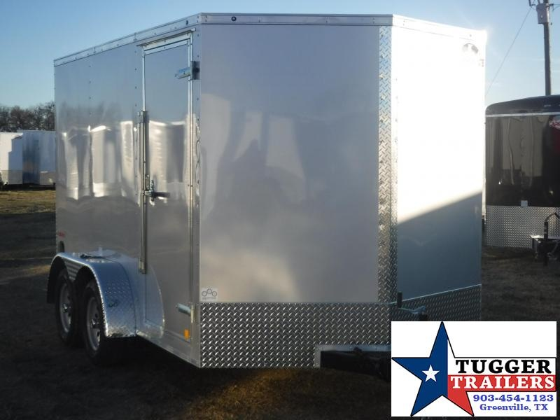 2017 Cargo Mate 7 x 12 E- Series Enclosed Cargo Trailer