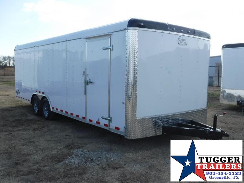 2017 Cargo Craft 8.5 x 24 Dragster  Enclosed Cargo Trailer