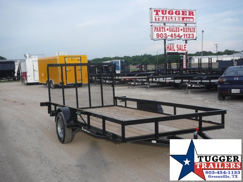 2019 TexLine 77x14 14ft Flatbed Utility Trailer