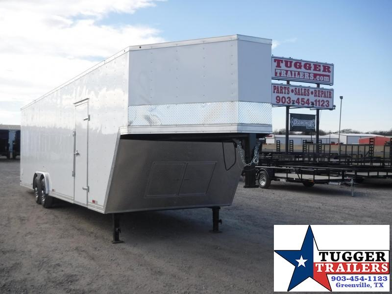 2018 Salvation Trailers 8.5 x 36 Gooseneck Enclosed Cargo Trailer