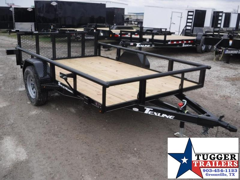 2018 TexLine 77 x 10 Stealth Utility Trailer