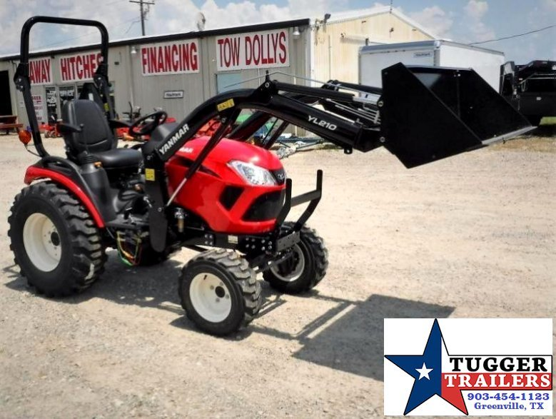 $268.00wac$ 2017 Yanmar USA 24HP  SA424 TL Package w/ 20