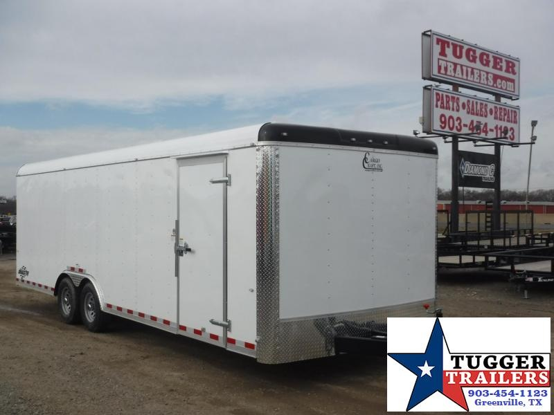 2018 Cargo Craft 8.5 x 24 TA Dragster Enclosed Cargo Trailer