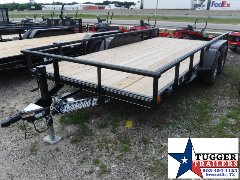 2017 Diamond C Trailers 83in x 16ft 6GT Utility Trailer