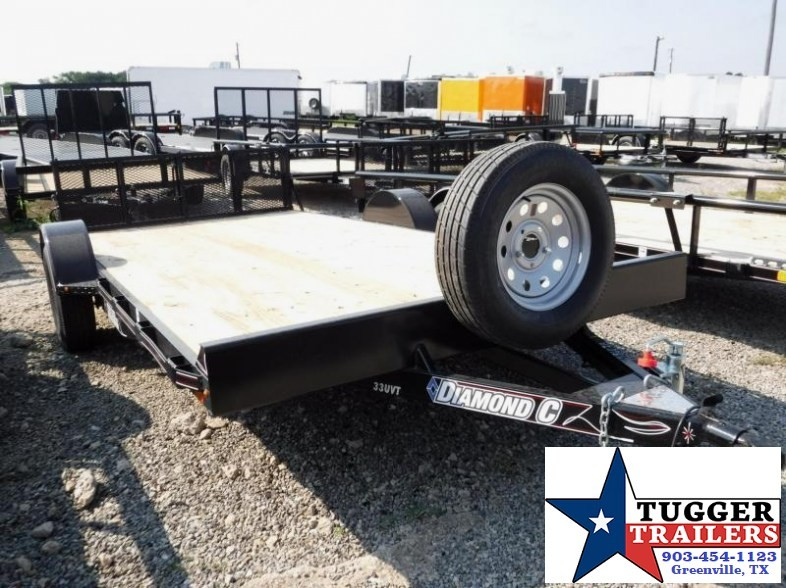 2017 Diamond C Trailers 83inx12ft 33UVT Utility Trailer