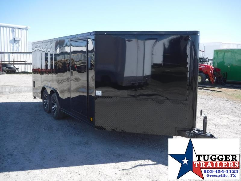 2018 Cargo Mate 8.5 x 16 Blazer Motorcycle Hauler Enclosed Cargo Trailer