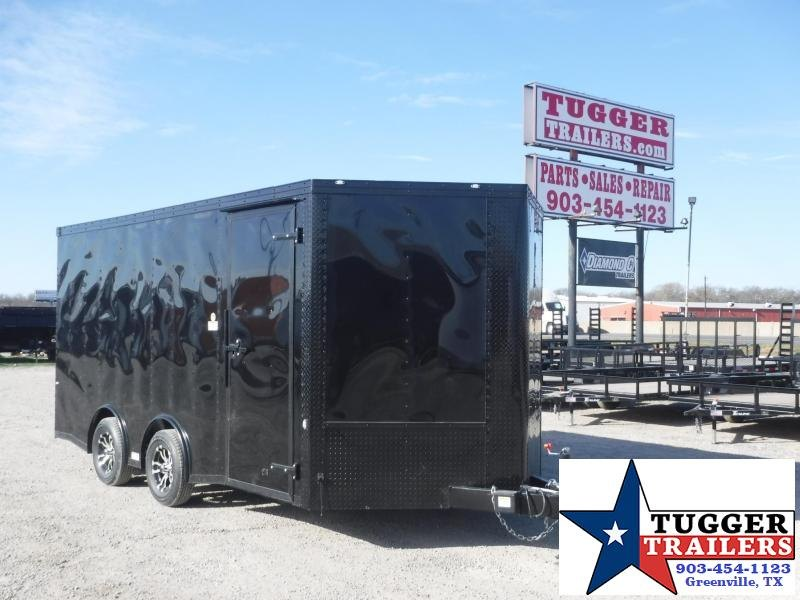 2018 Cargo Craft 8.5x16 Vector Enclosed Cargo Trailer