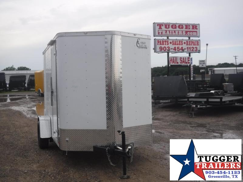 2019 Cargo Craft 6x10 10ft Plus 2 V-Nose Ramp Enclosed Cargo Trailer