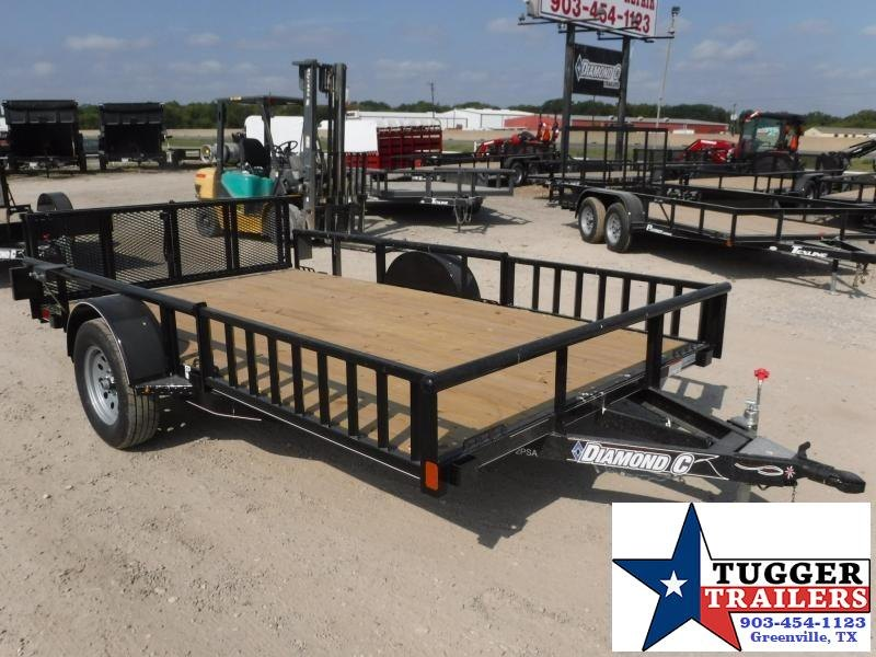 2017 Diamond C Trailers 83in x 12ft 2PSA Utility Trailer