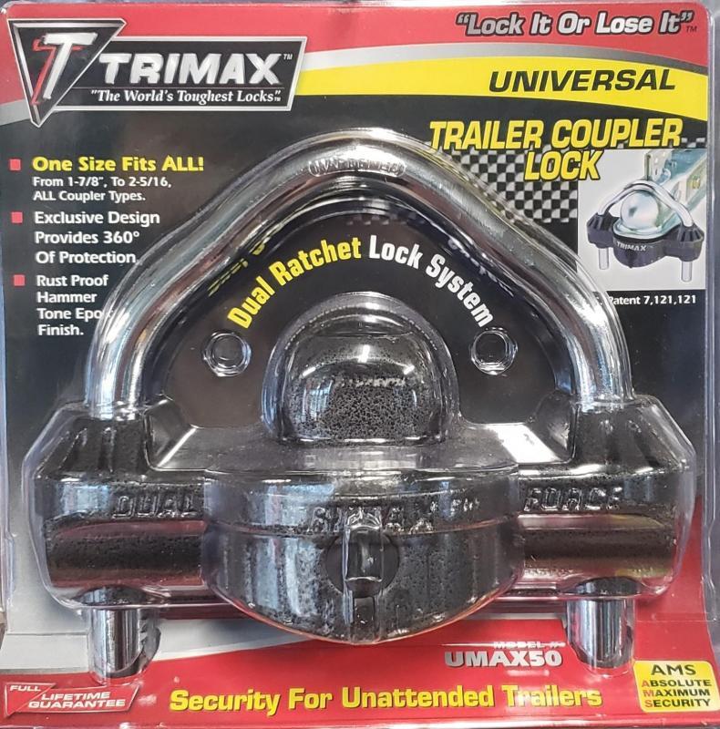 Trimax Universal Coupler Lock UMAX50