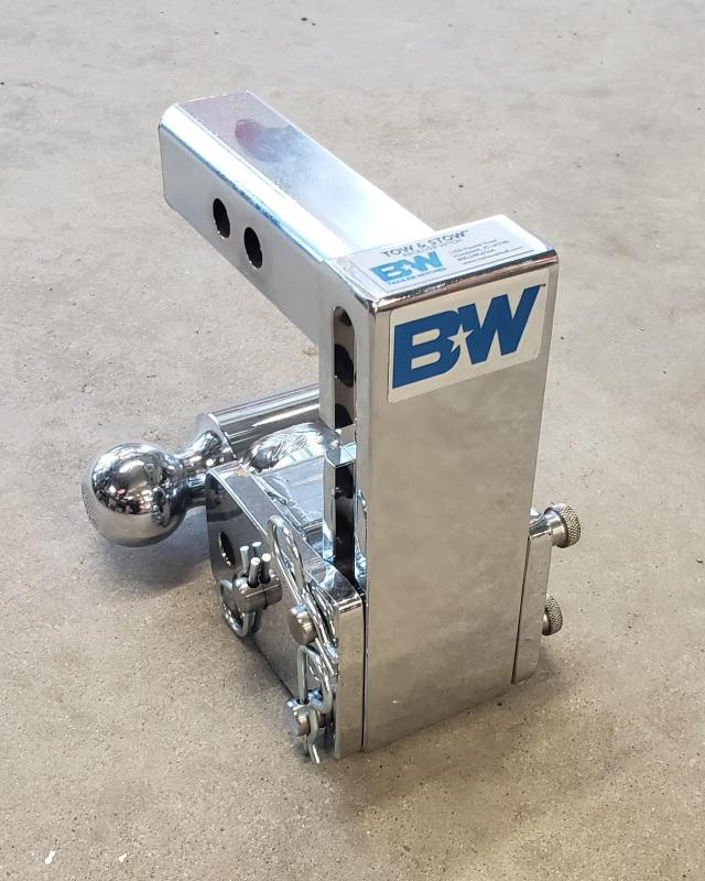 """BW Tow and Stow 5"""" drop dual ball Hitch"""