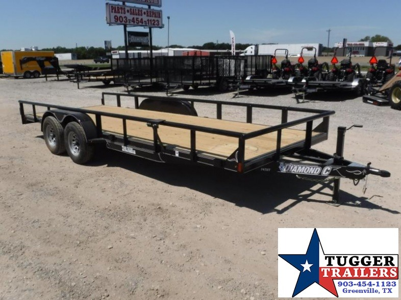 2017 Diamond C Trailers 83in x 20ft 14TUT Equipment Trailer