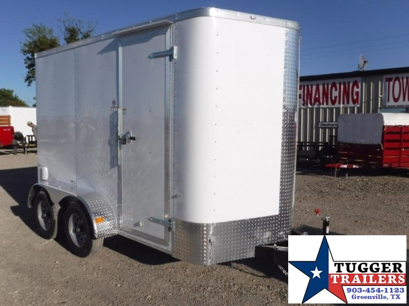2017 Cargo Craft 6 x 10 Elite-V TA Enclosed Cargo Trailer