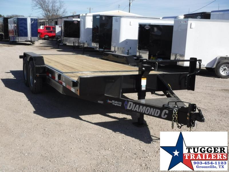 2018 Diamond C Trailers 82x20 45HDT Tilt Equipment Trailer