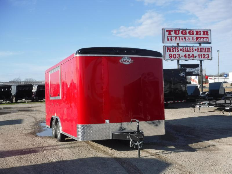 2019 Cargo Mate Trailers 8.5 X 16 Concession Enclosed Cargo Trailer