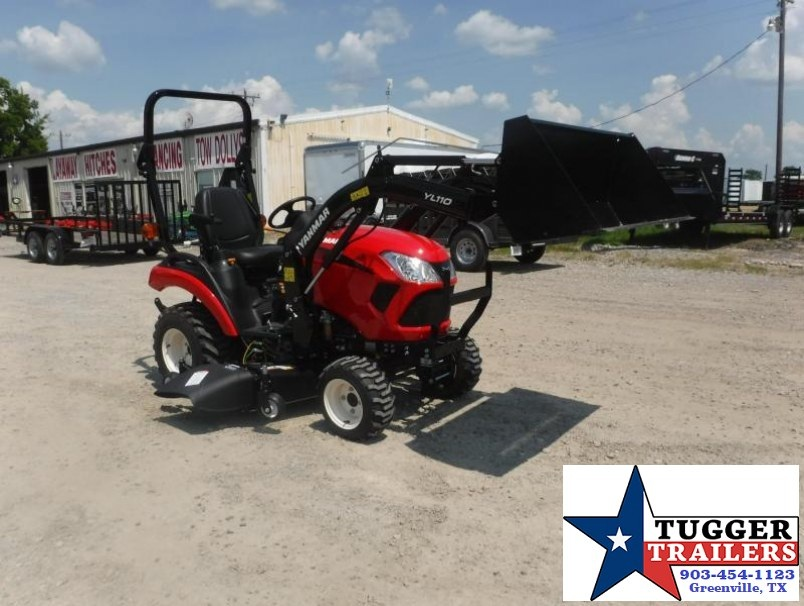 2017 Yanmar USA SA221 TLD 21HP Farm Tractor Loader and Deck $198/mo WAC