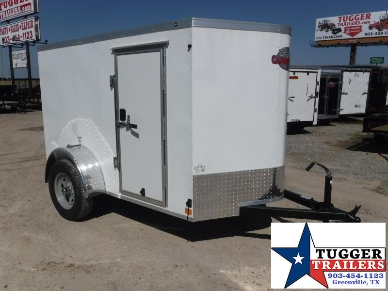 2018 Cargo Mate 5x8 TX LE Enclosed Cargo Trailer
