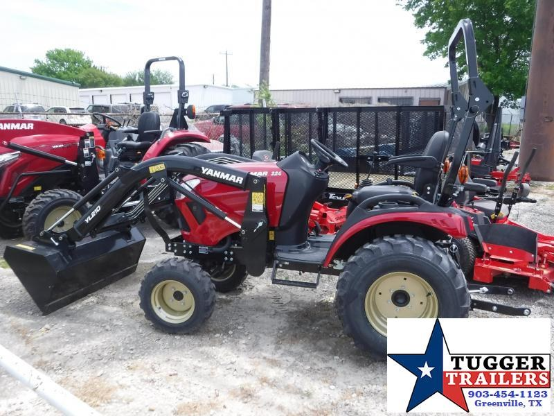 2018 Yanmar 4x4 SA 324 Tractor and Loader!