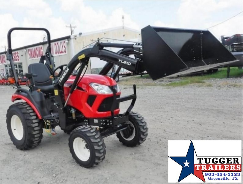 $250.00wac$ 2017 Yanmar USA 24HP  SA324 Package w/ Trailer