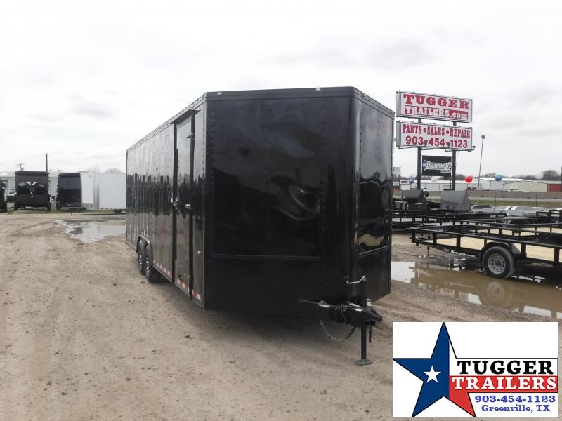 2019 Cargo Craft 8.5x27 27ft Auto Race Mobile Hauler Black-Out Car / Racing Trailer