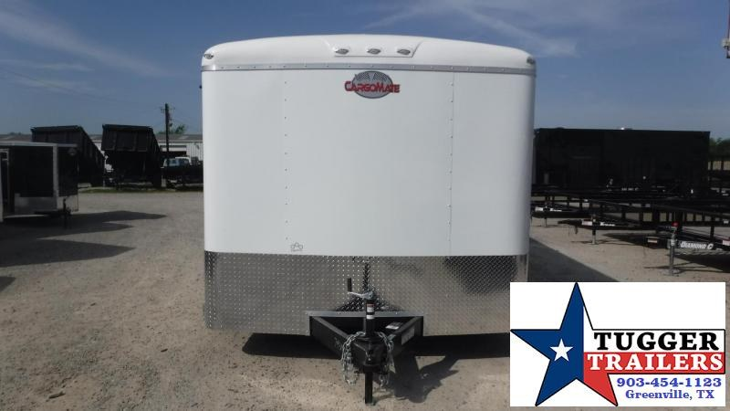 2018 Cargo Mate 8.5x20 Qualifier Enclosed Cargo Trailer