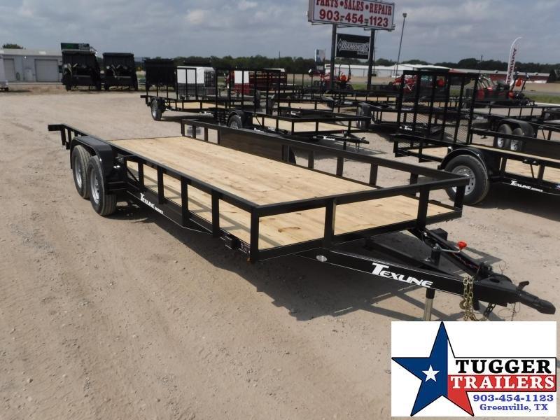 2018 Texline Trailers 83 x 20 Texline TA Equipment Trailer