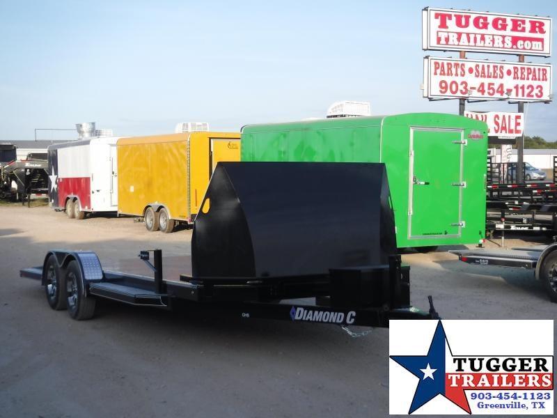 2020 Diamond C Trailers 83x20 20ft CHS Auto Mobile Steel Flatbed Car / Racing Trailer