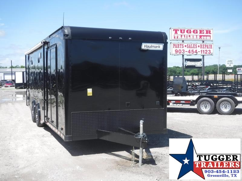 2019 Haulmark 8.5x28 28ft Blackout Edge Ramp Enclosed Cargo Trailer