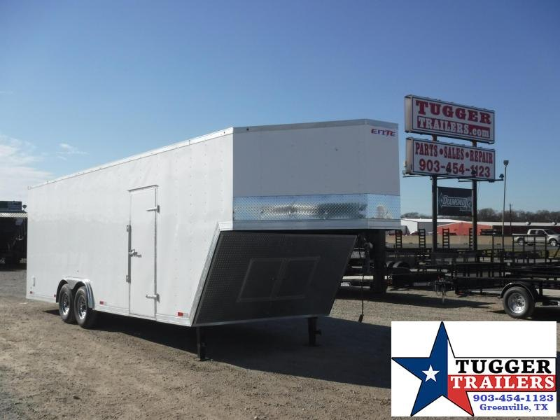 2018 Salvation Trailers 8.5 x 32 Gooseneck Enclosed Cargo Trailer