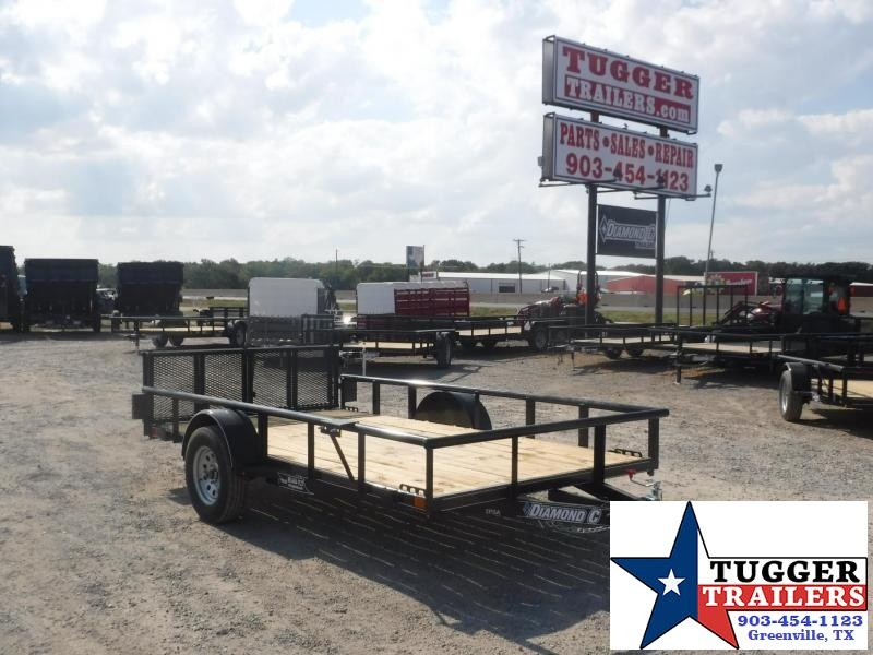 2017 Diamond C Trailers 77in x 12ft 2PSA Utility Trailer