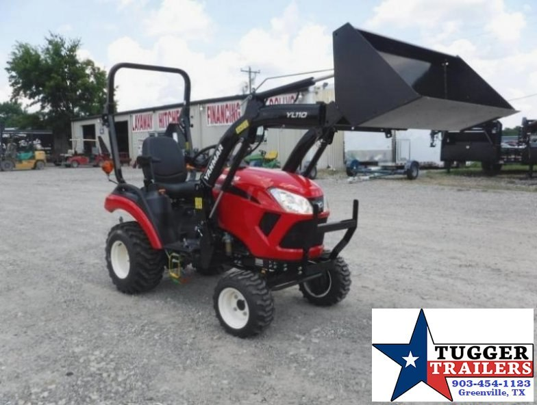 $217.00wac$ 2017 Yanmar USA SA221 TL  21HP Package w/ Trailer