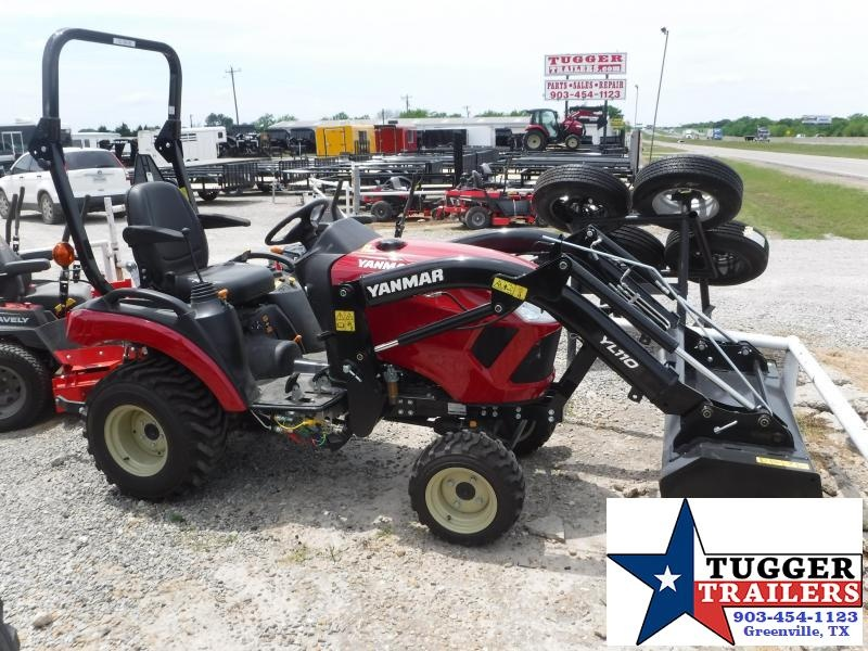 2018 Yanmar USA SA 221 Tractor and Loader!