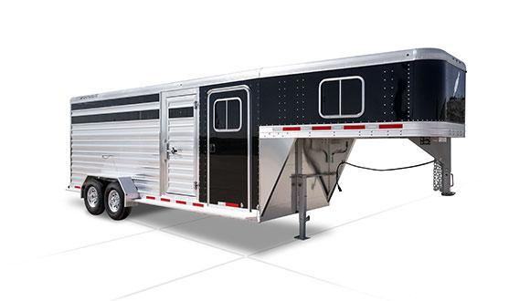 2019 Featherlite 8417 Stock Combo Trailer