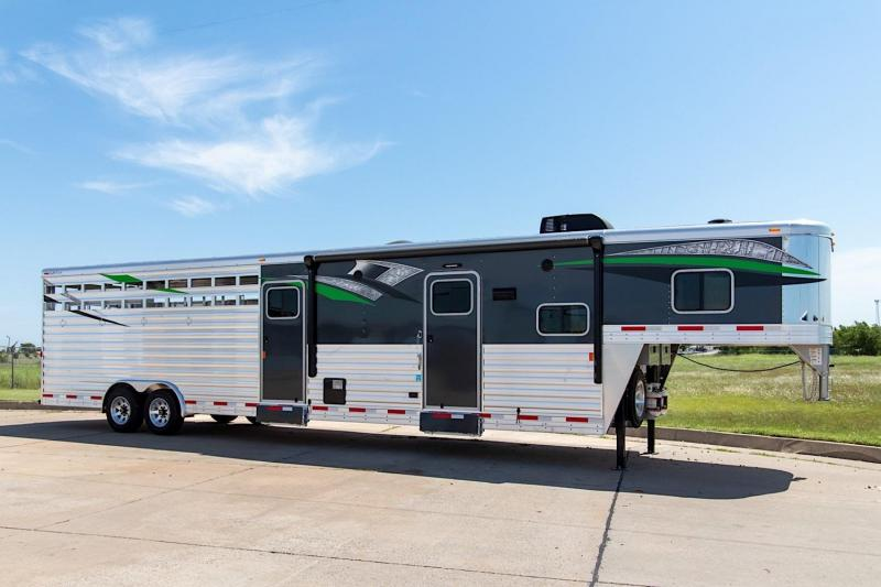 2019 Exiss STC 8034 LQ 7.8 Tall Livestock Trailer