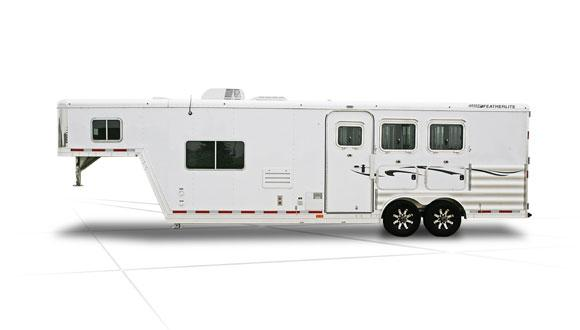2019 Featherlite 8581 LQ Horse Trailer