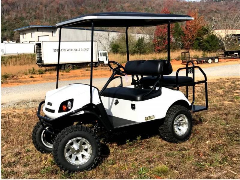 2018 E-Z-GO EXPRESS S4 GAS Golf Cart