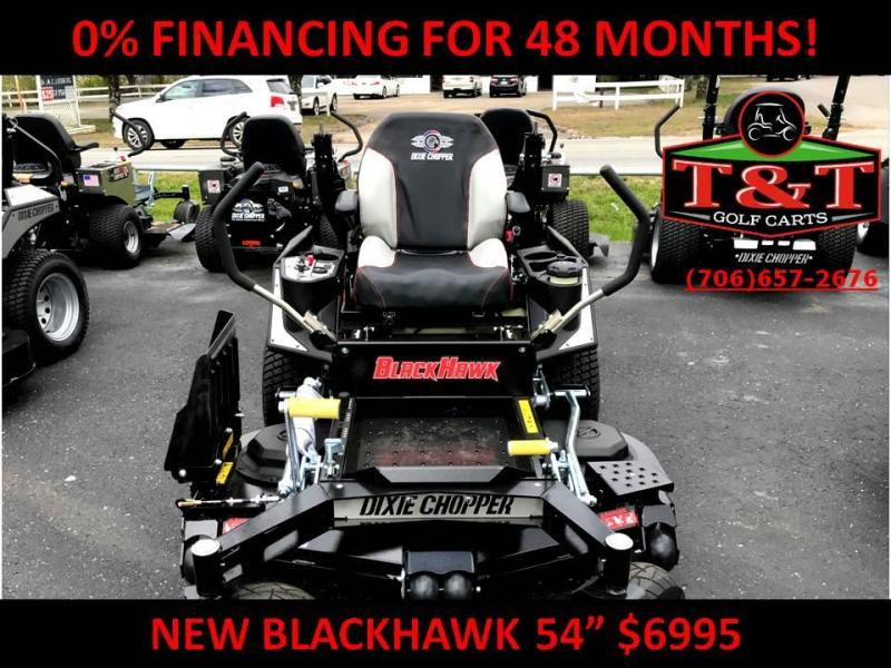 2018 DIXIE CHOPPER BLACKHAWK 2454kw Lawn Mower