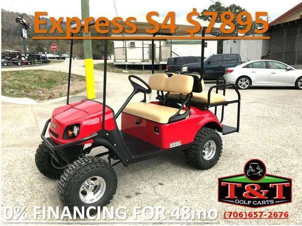 New E-Z-GO Express S4 Golf Cart