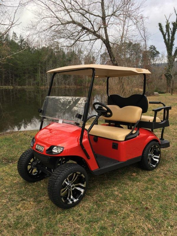 2017 E-Z-GO TXT Elite Lithium Golf Cart