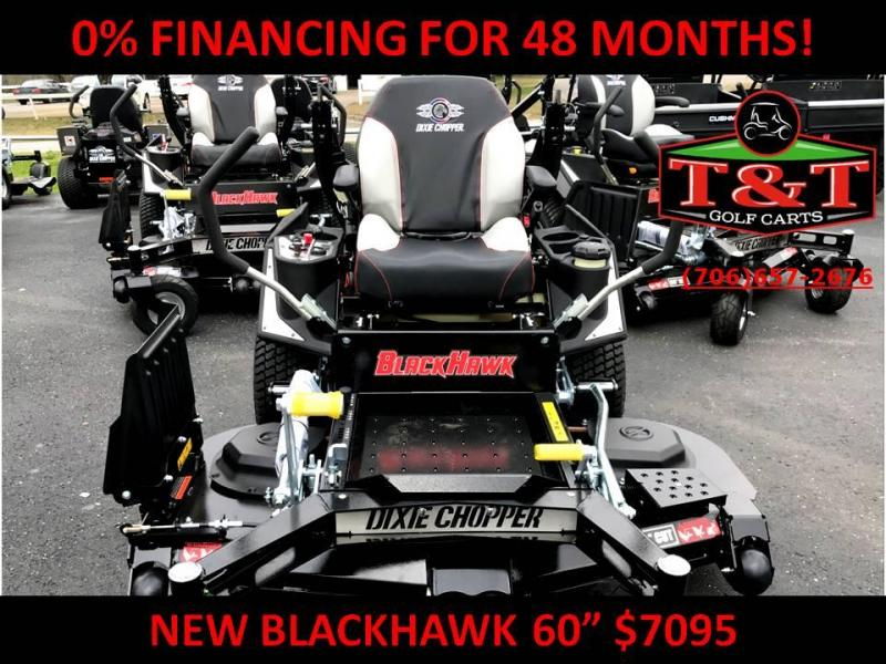 2018 DIXIE CHOPPER BLACKHAWK 2460kw Lawn Mower