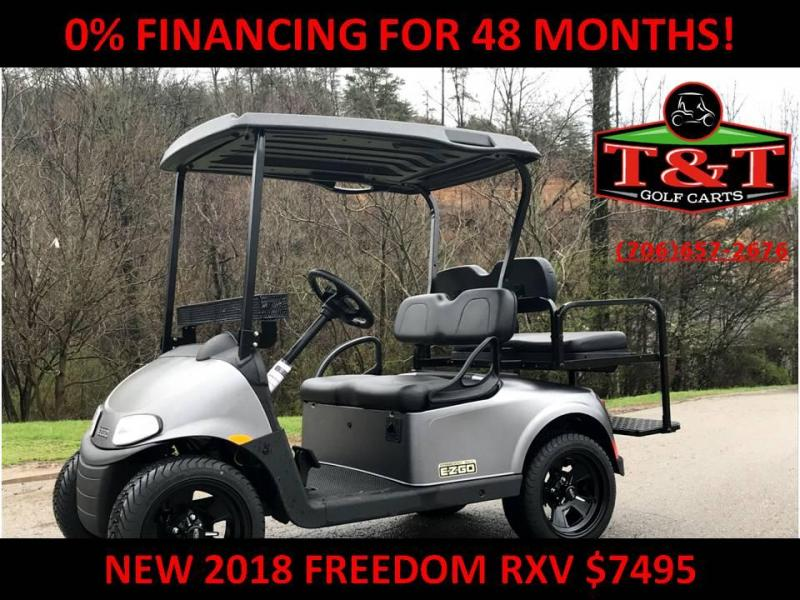 2018 E-Z-GO Freedom RXV Electric Golf Cart
