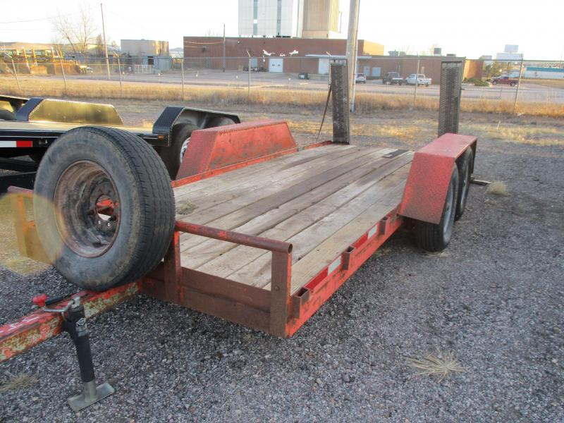 2010 Homemade Utility Flatbed Trailer