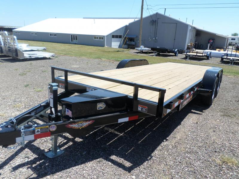 2019 H and H Trailer Speedloader Flatbed Trailer