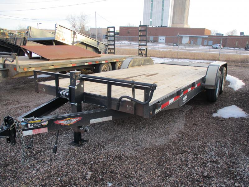 2017 H and H Trailer Flatbed Trailer 82 X 20
