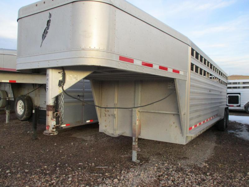 2011 Featherlite Stock Livestock Trailer 7 X 24