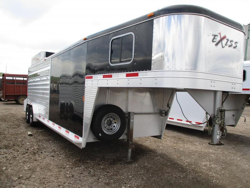 2012 Exiss Trailers Stock Combo Livestock Trailer