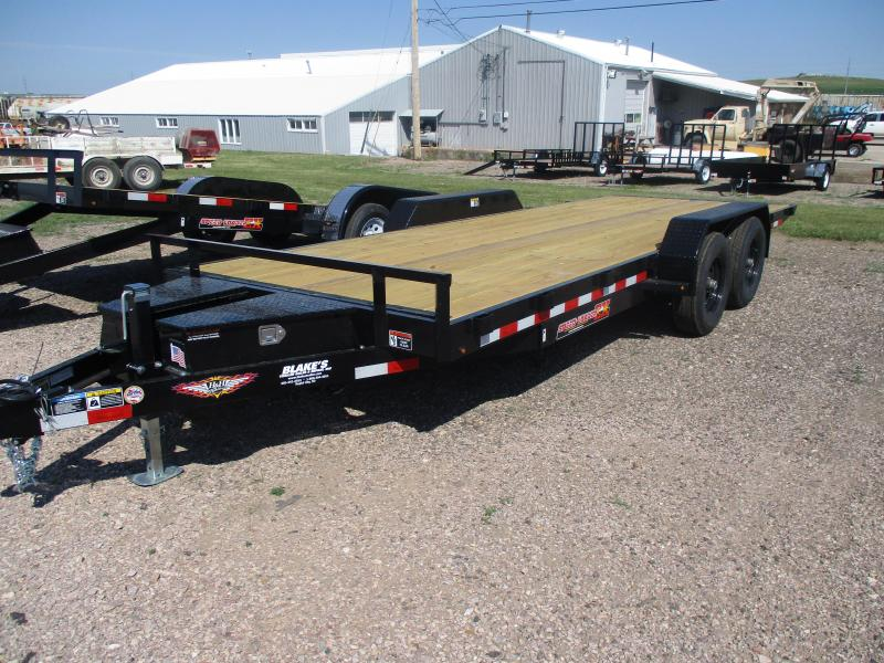 2020 H and H Trailer Speed loader Flatbed Trailer